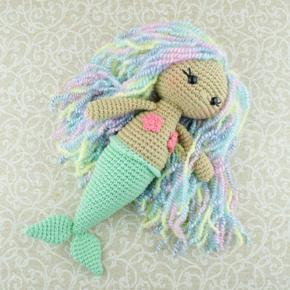 Amigurumi Aurora Mermaid - Free crochet pattern by Amigurumi Today