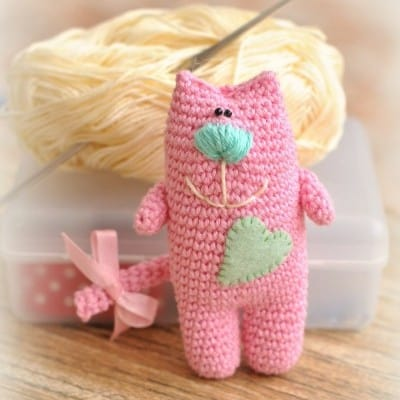 cat amigurumi free pattern