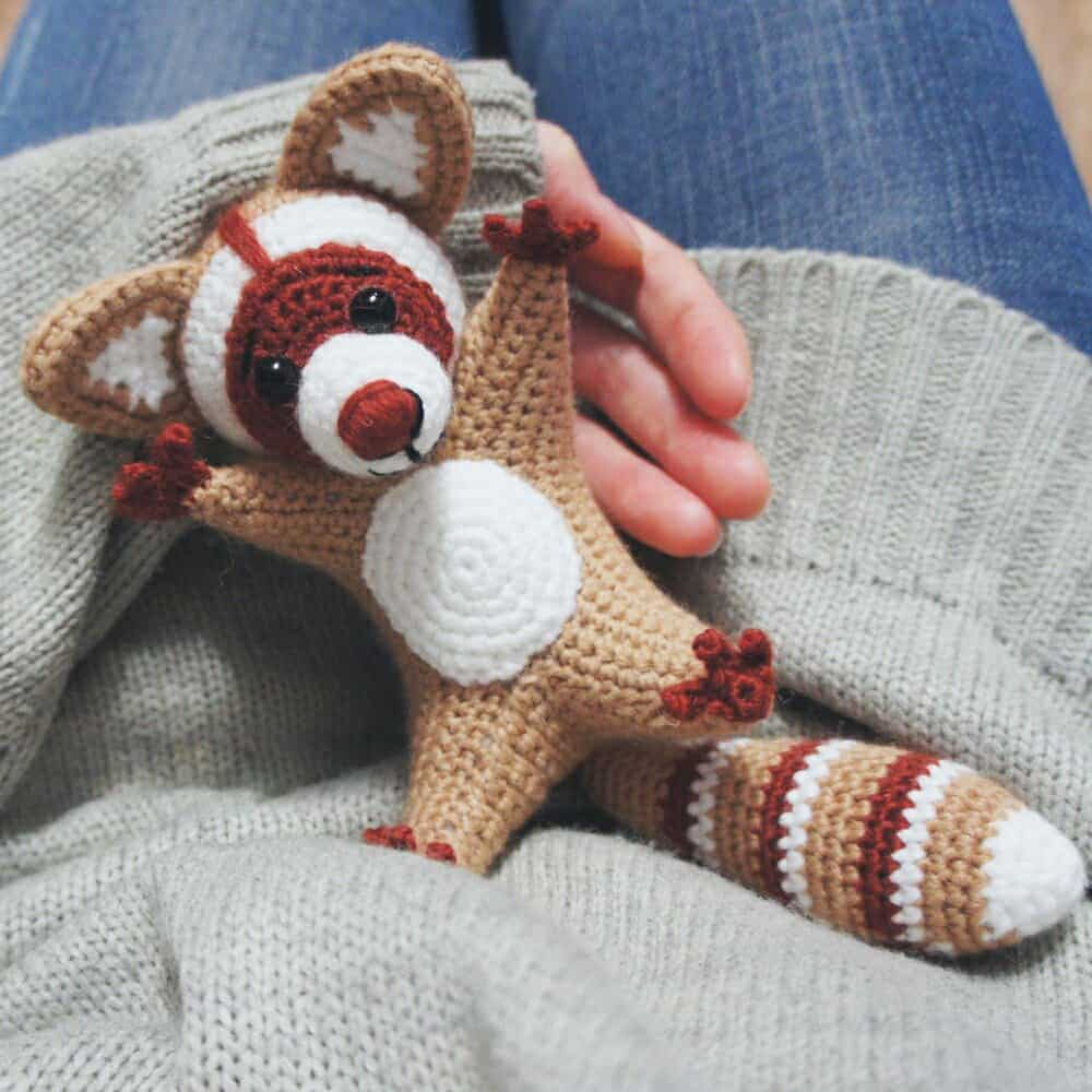 Raccoon Amigurumi Pattern Amigurumi Today