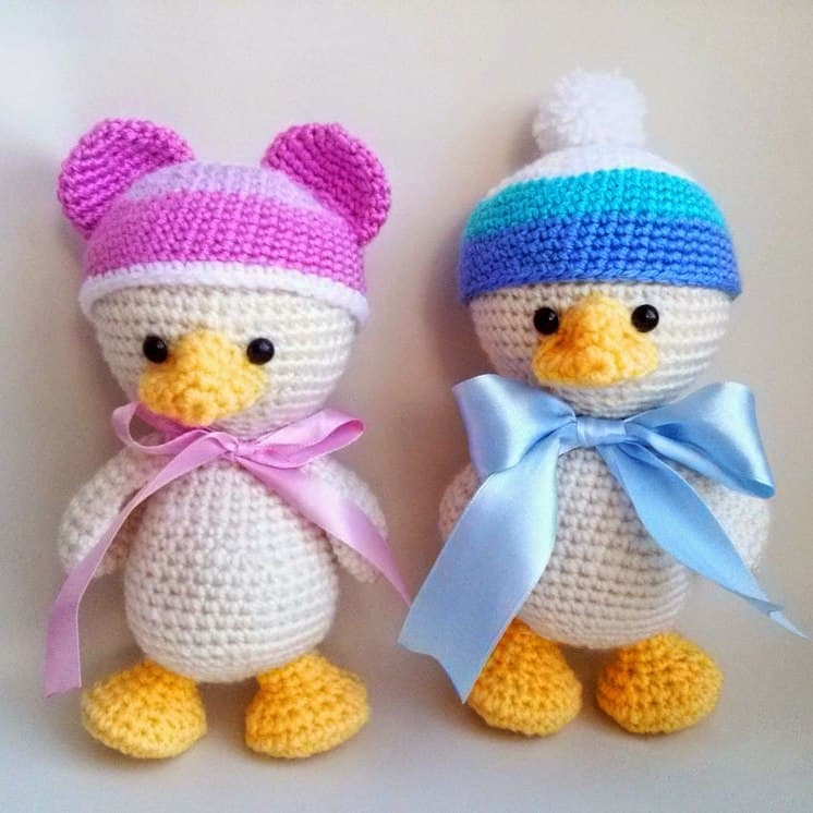 Amugurumi duckling pattern - Amigurumi Today