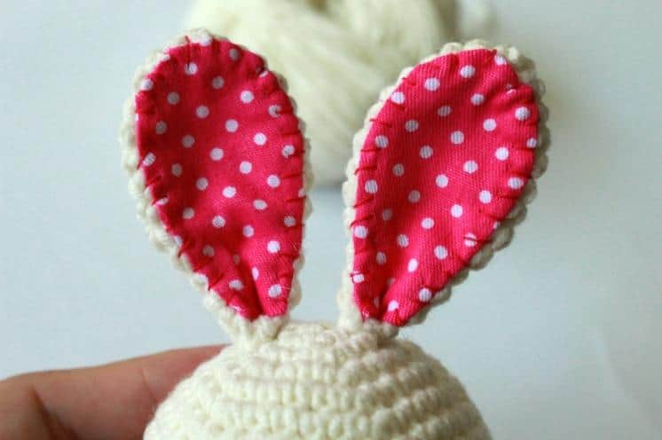 How to crochet bunny amigurumi pattern