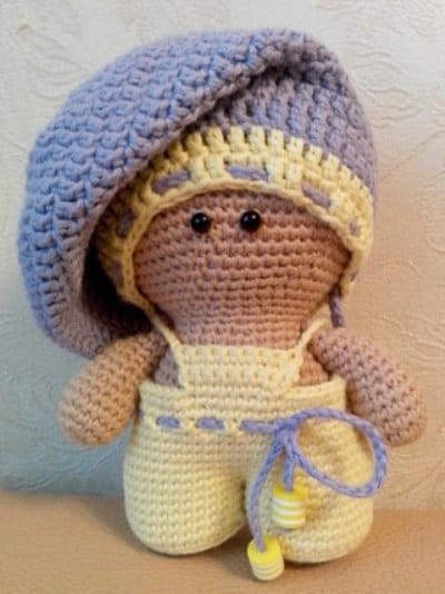Baby Doll Amigurumi Crochet Pattern Amigurumi Today Adorable Crochet Baby Doll Pattern