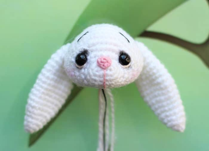 Little crochet bunny pattern