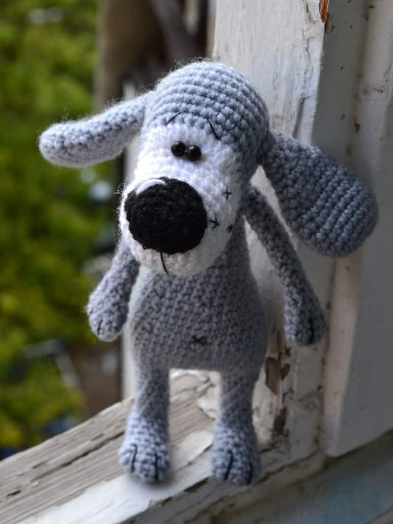 Boofle dog crochet pattern free amigurumi