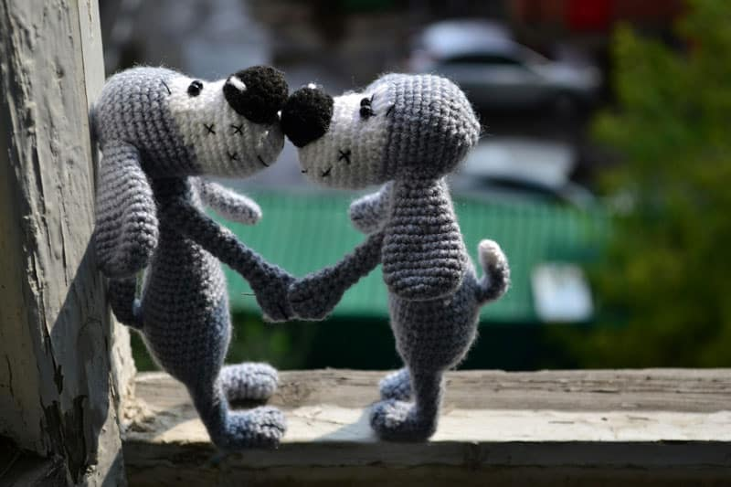 Free Boofle dog crochet pattern