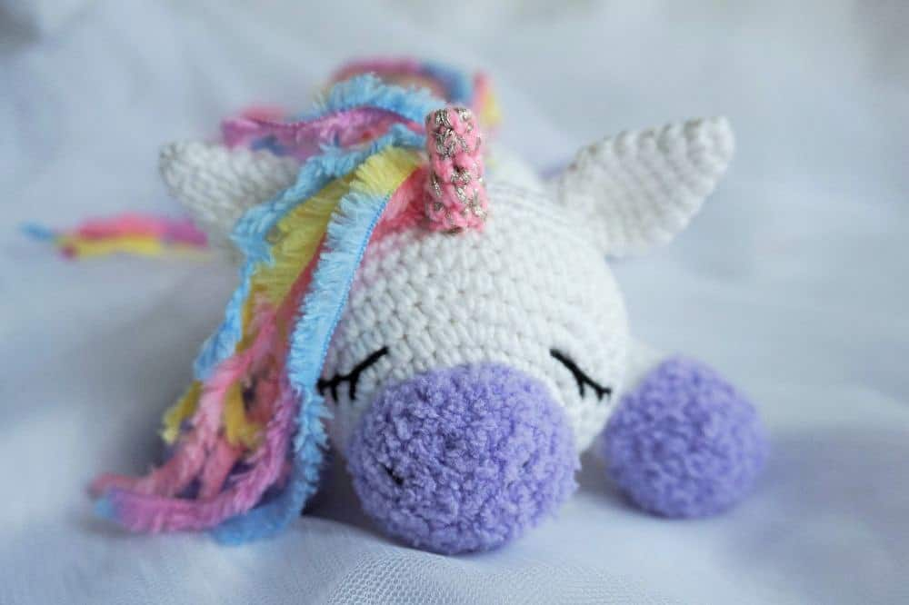 Sleeping Unicorn Pony Crochet Pattern Amigurumi Today Magnificent Unicorn Crochet Pattern