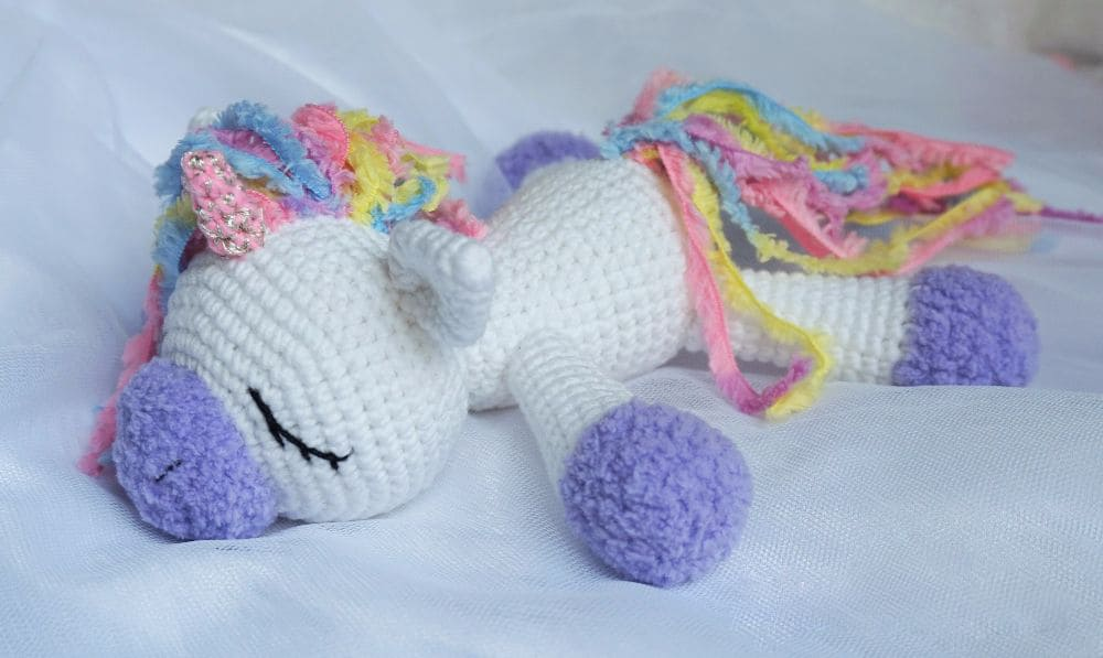 Sleeping Unicorn Pony Crochet Pattern Amigurumi Today Enchanting Unicorn Crochet Pattern