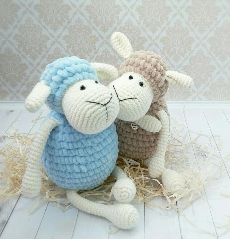 Amigurumi Sheep Plush Toy Pattern Amigurumi Today