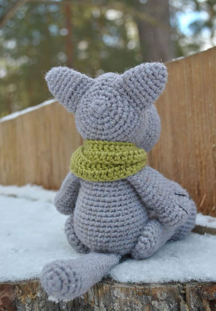 This is a designing to crochet a sweetness in addition to innocent amigurumi wolf Crochet wolf amigurumi pattern