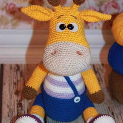 Free Crochet Amigurumi Giraffe Patterns