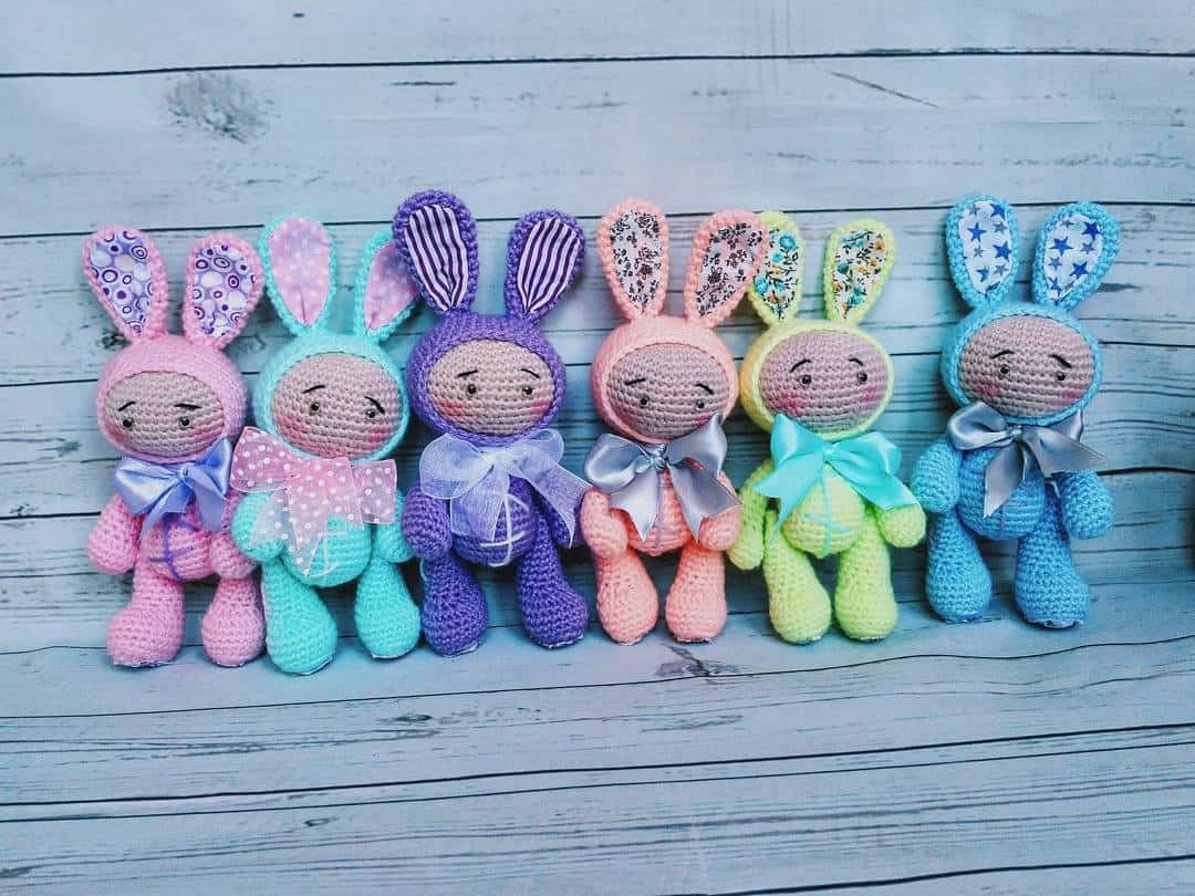 Amigurumi Baby Doll Patterns