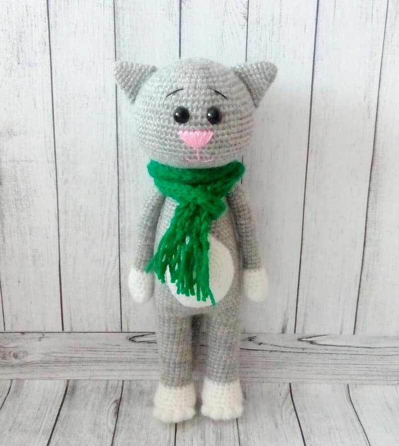 Amigurumi crochet cat patterns