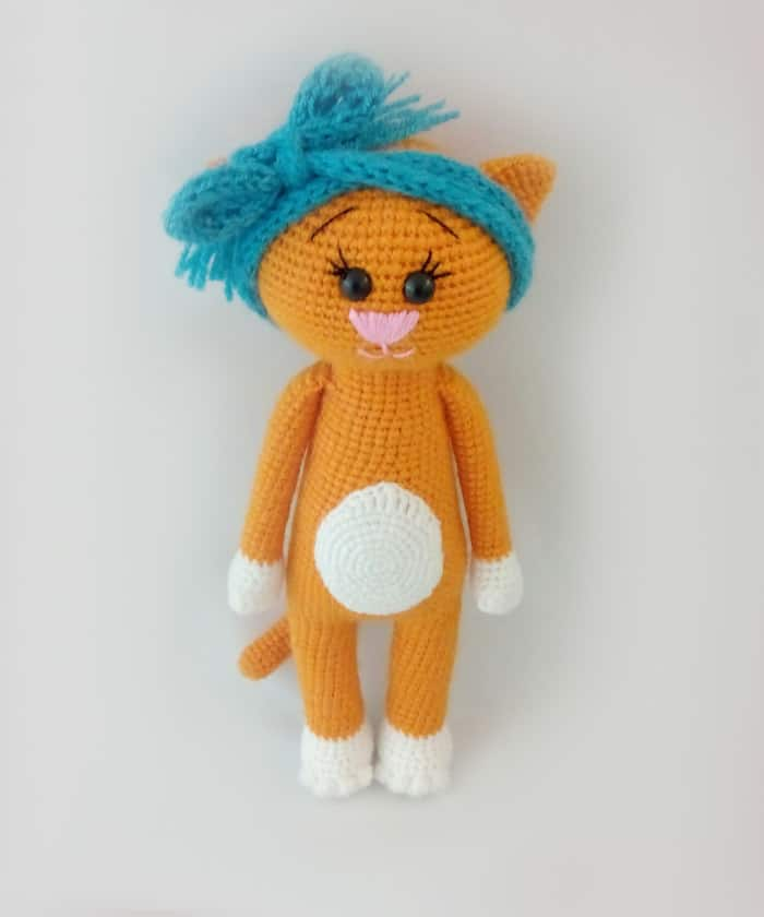 Easy Crochet Cat Patterns - Free Amigurumi Patterns • DIY & Crafts | 840x700