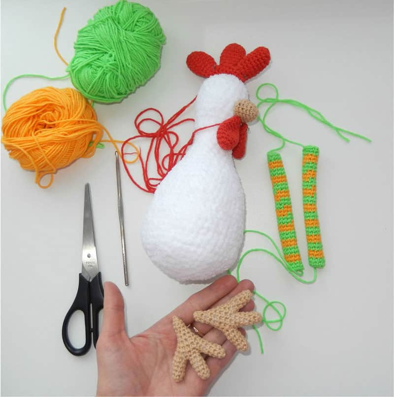 Funny Rooster Crochet Pattern Amigurumi Today