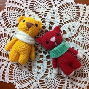Amigurumi marmalade crochet toy patterns