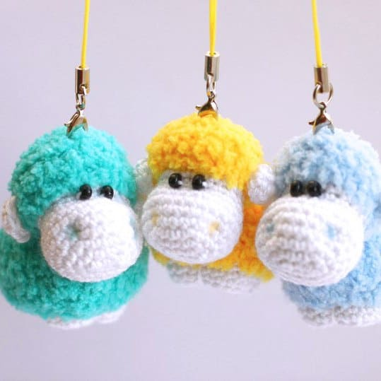 Amigurumi sheep free crochet pattern
