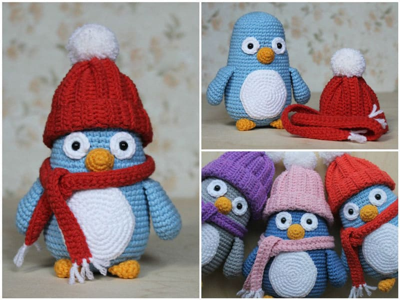 Baby penguin amigurumi pattern - Amigurumi Today