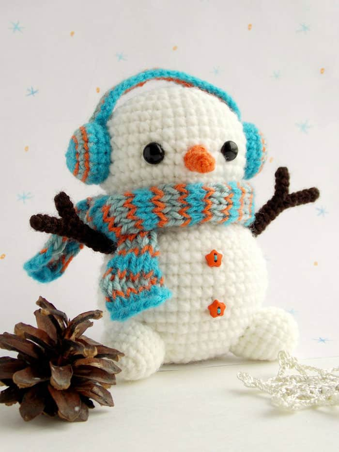 Free Crochet Snowman Pattern Amigurumi Today