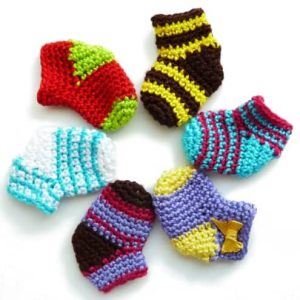 Christmas sock free crochet pattern