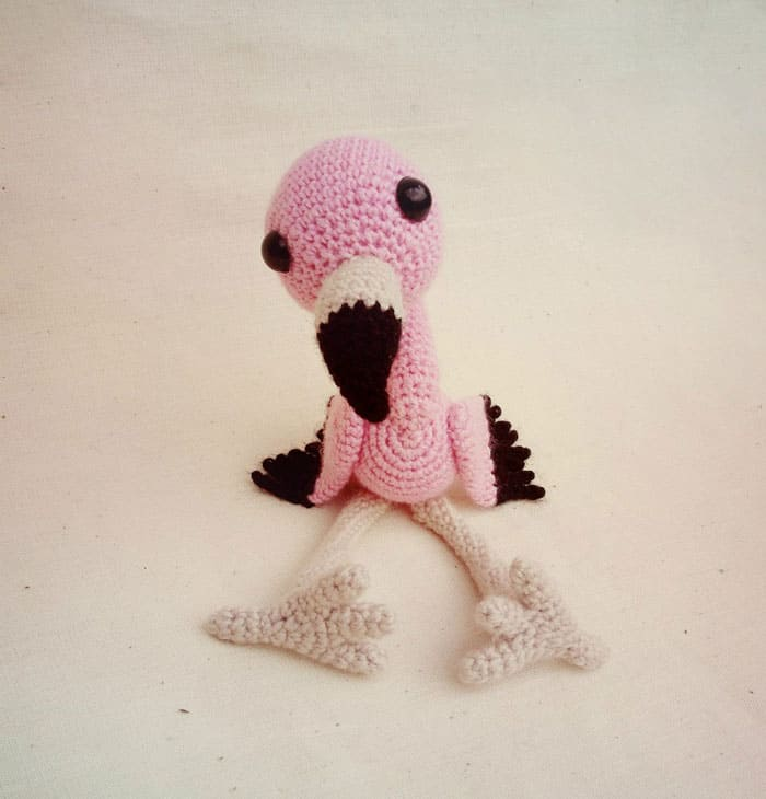 Baby Flamingo Amigurumi Pattern Amigurumi Today