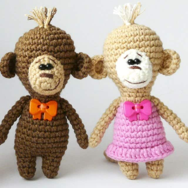 Amigurumi crochet monkey pattern - Amigurumi Today