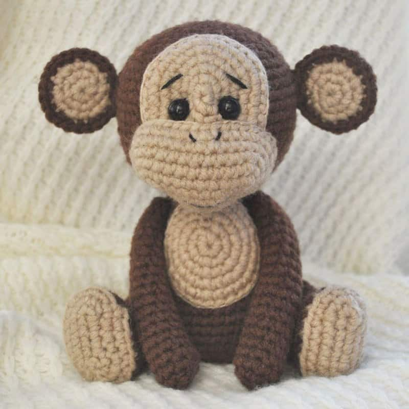 Naughty monkey amigurumi pattern - Amigurumi Today