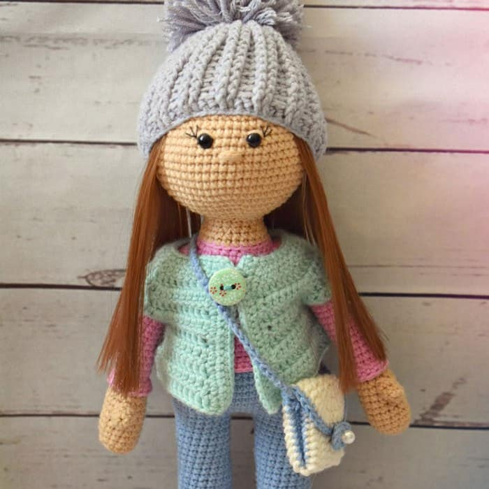 Amigurumi Today Bear : Molly doll crochet pattern - Amigurumi Today