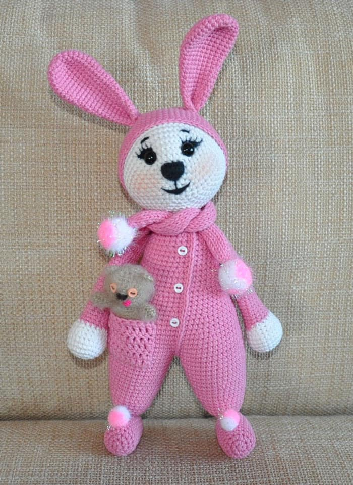 Sunny Bunny crochet pattern - Amigurumi Today | 960x700