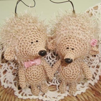 Amigurumi Today Bear : Amigurumi hedgehog crochet pattern - Amigurumi Today
