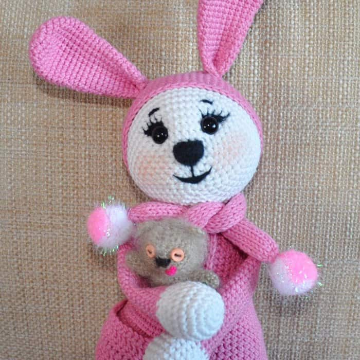Amigurumi Bunny In Pajamas Amigurumi Today