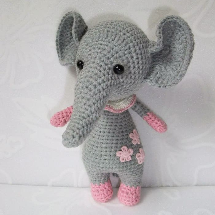Free Amigurumi Patterns Online : Baby elephant amigurumi pattern - Amigurumi Today