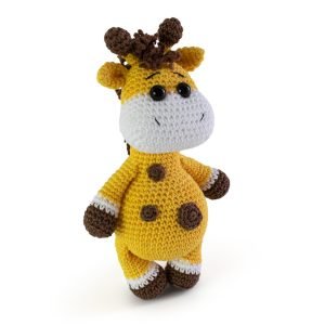 Amigurumi giraffe crochet pattern by Amigurumi Today