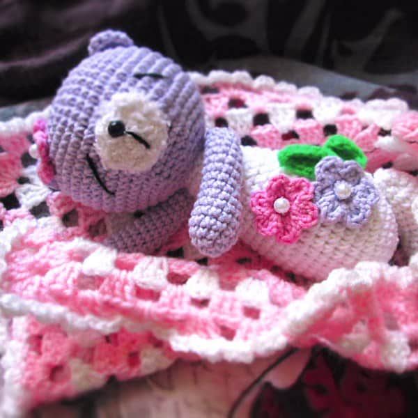 Amigurumi Today Bear : Sleeping teddy bear crochet pattern - Amigurumi Today
