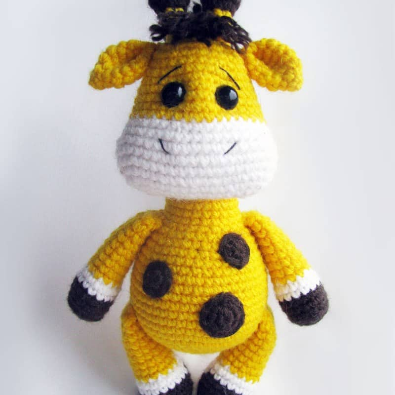 Amigurumi Hello Kitty Collection 1 : Baby giraffe crochet pattern - Amigurumi Today