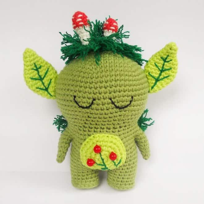 Forest spirit amigurumi pattern - Amigurumi Today