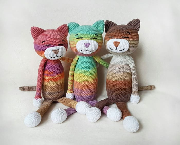 Large Ami Cat crochet pattern - Amigurumi Today