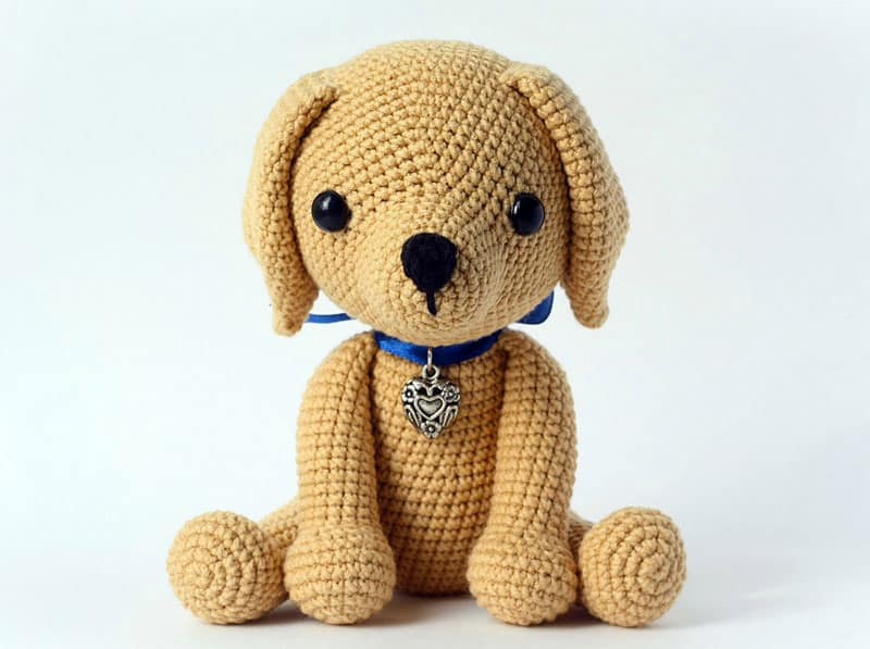 Lucky Puppy amigurumi pattern