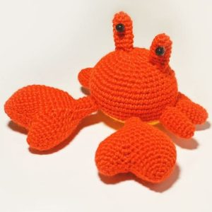 Crochet Mr. Crab - Free amigurumi pattern