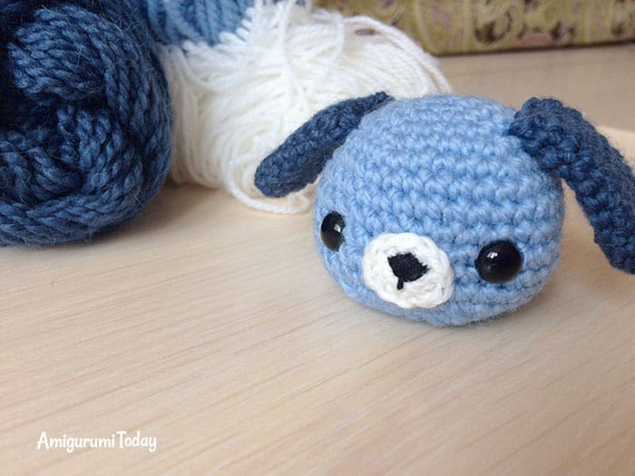 DIY Crochet Amigurumi Puppy Dog Stuffed Toy Free Patterns ... | 525x700