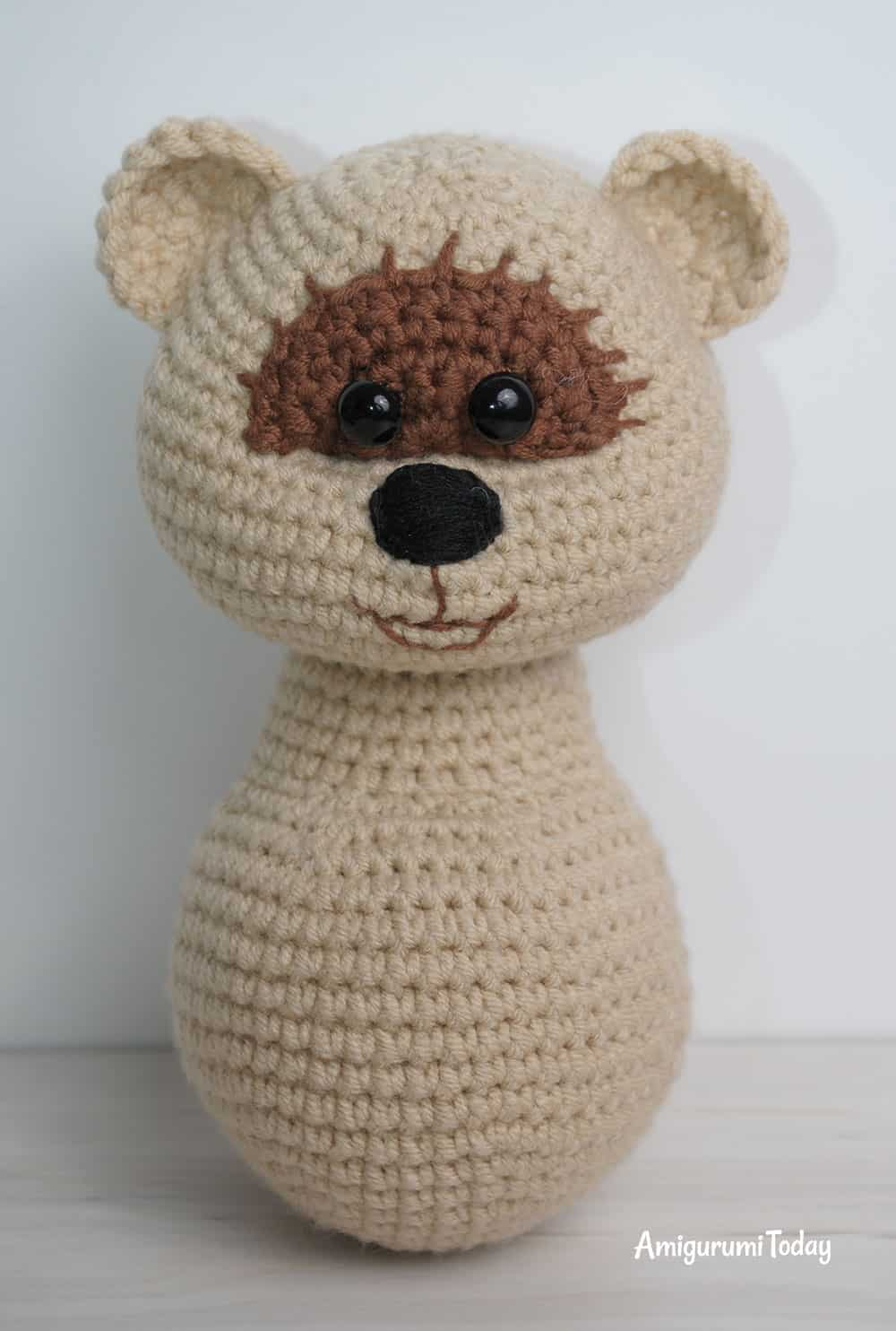Baby Knitting Patterns Amigurumi Crochet Bear Sleeper Free Pattern ... | 1484x1000