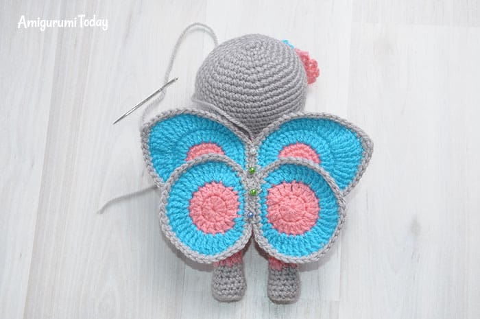 Amigurumi Doll In Butterfly Costume Amigurumi Today