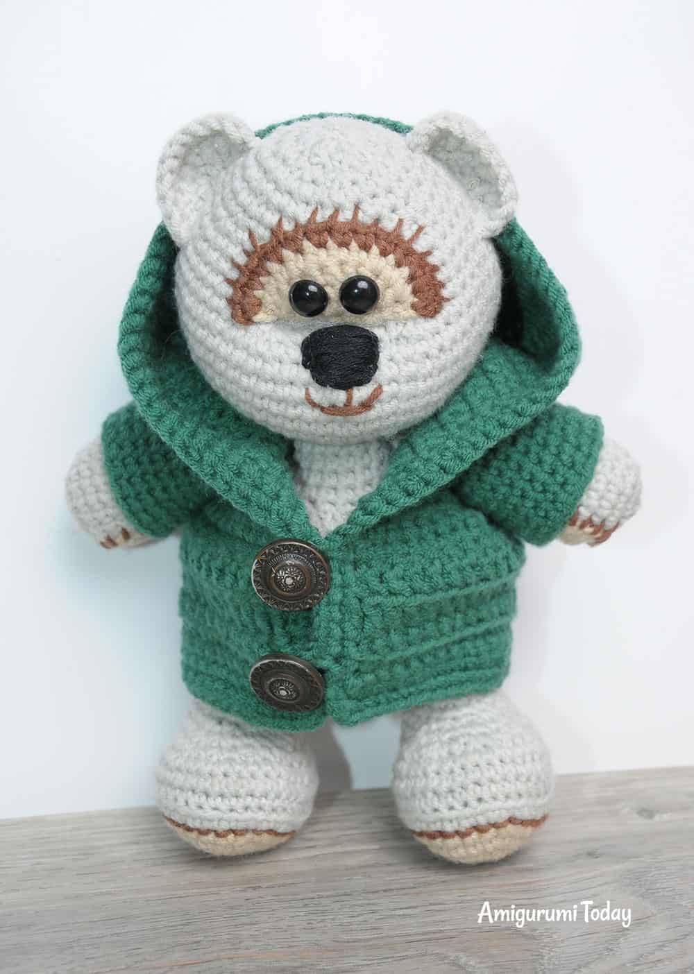 Honey teddy bear crochet pattern