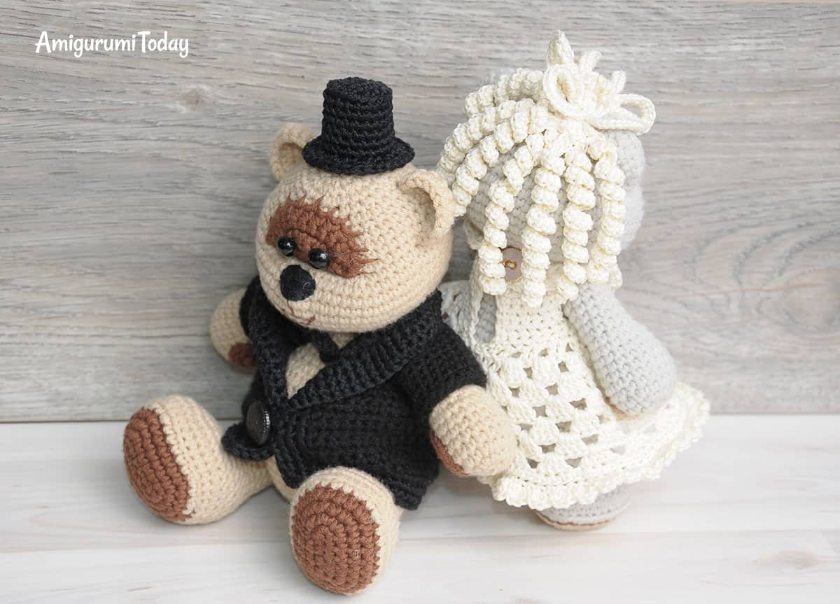 Best Wedding Amigurumi - Crochet 365 Knit Too | 863x1200