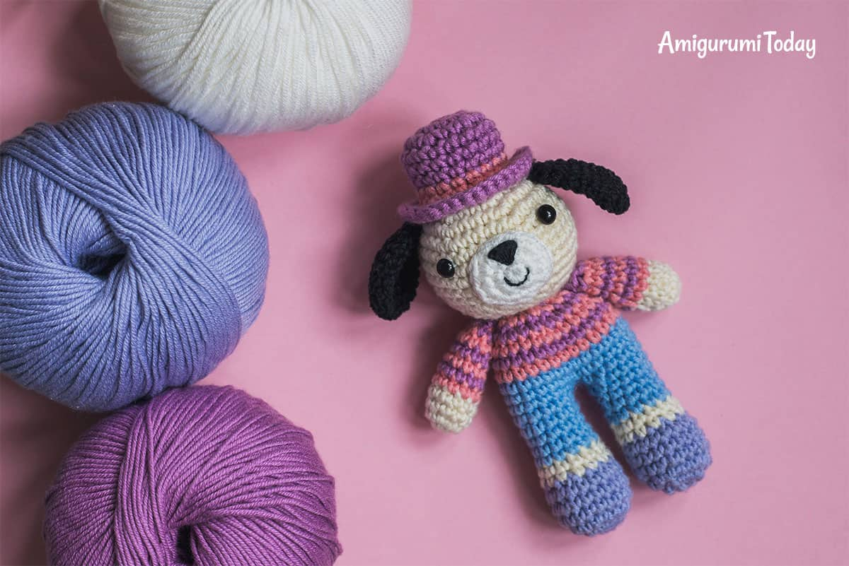 Charlie the Dog - free amigurumi pattern