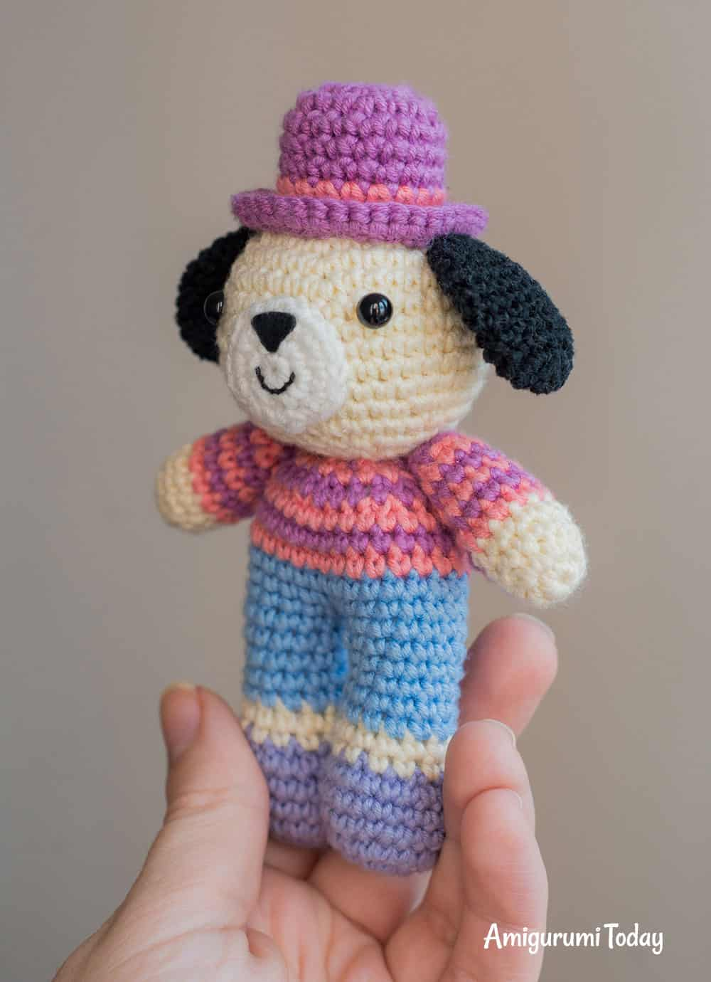 Charlie the Dog crochet pattern
