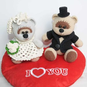 Crochet Bears Wedding - FREE amigurumi pattern