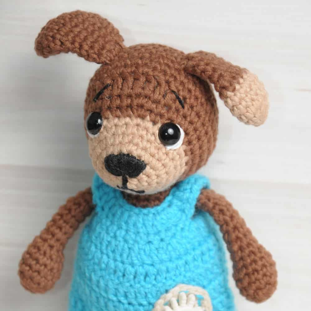 Amigurumi Today Bear : Timmy the Dog amigurumi pattern - Amigurumi Today