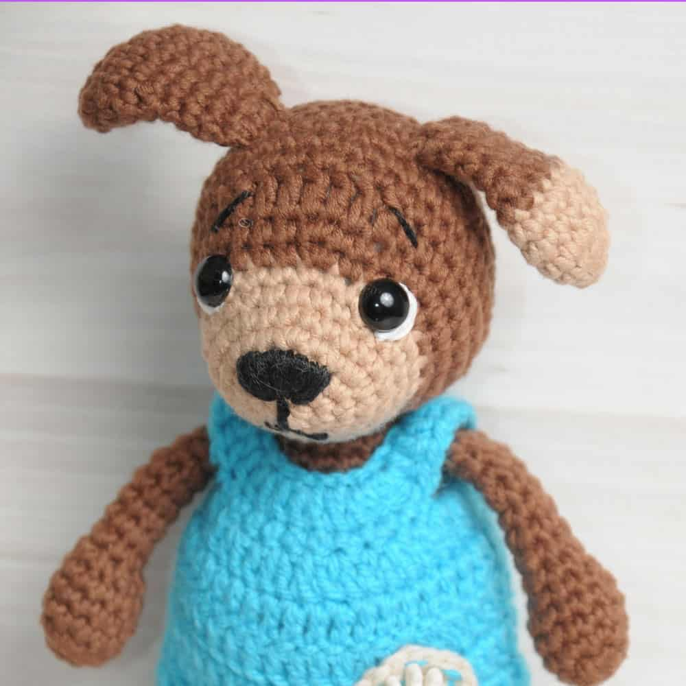 Floppy Eared Dog Sewing Pattern