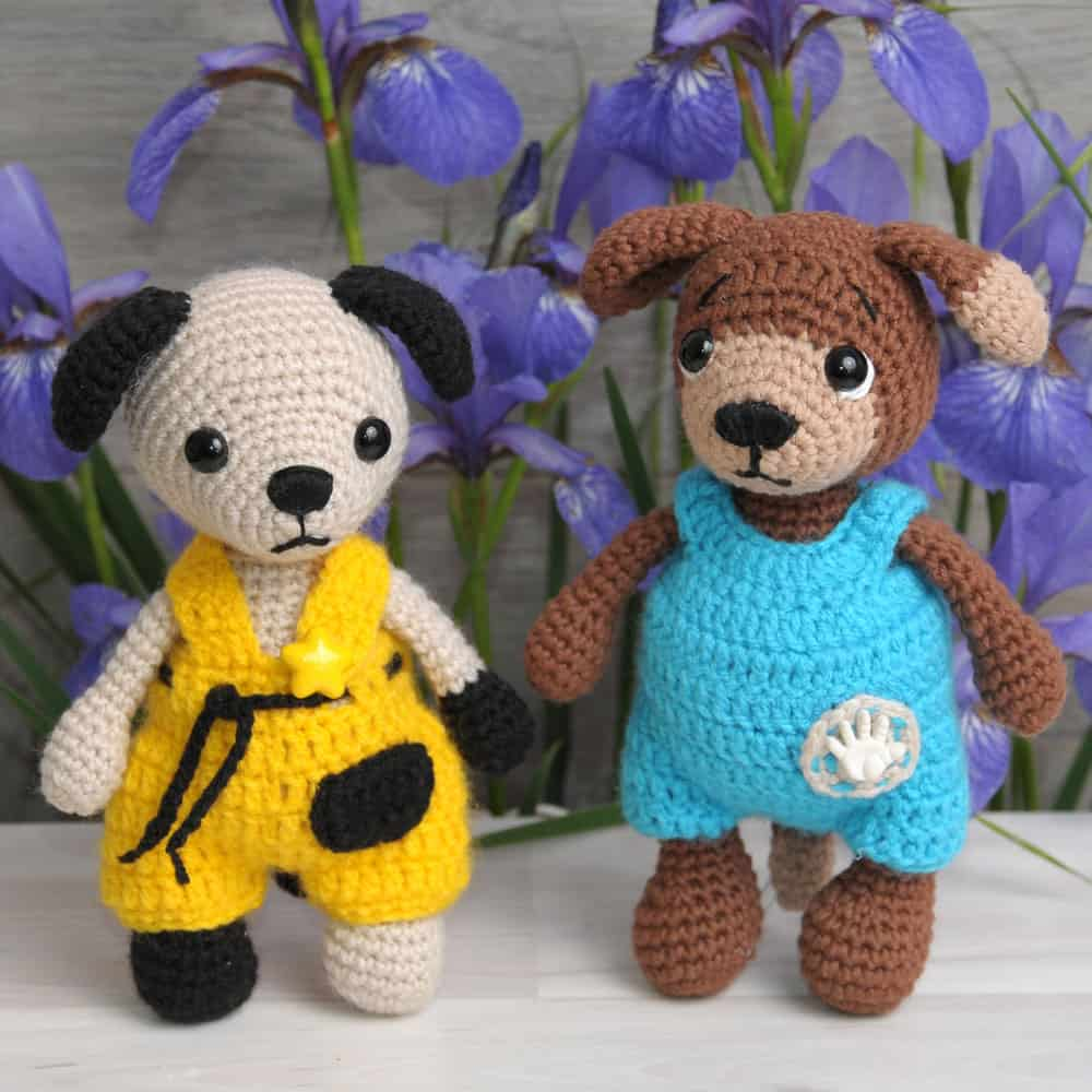 Amigurumi Animals Patterns Free : Tommy the Dog crochet pattern - Amigurumi Today