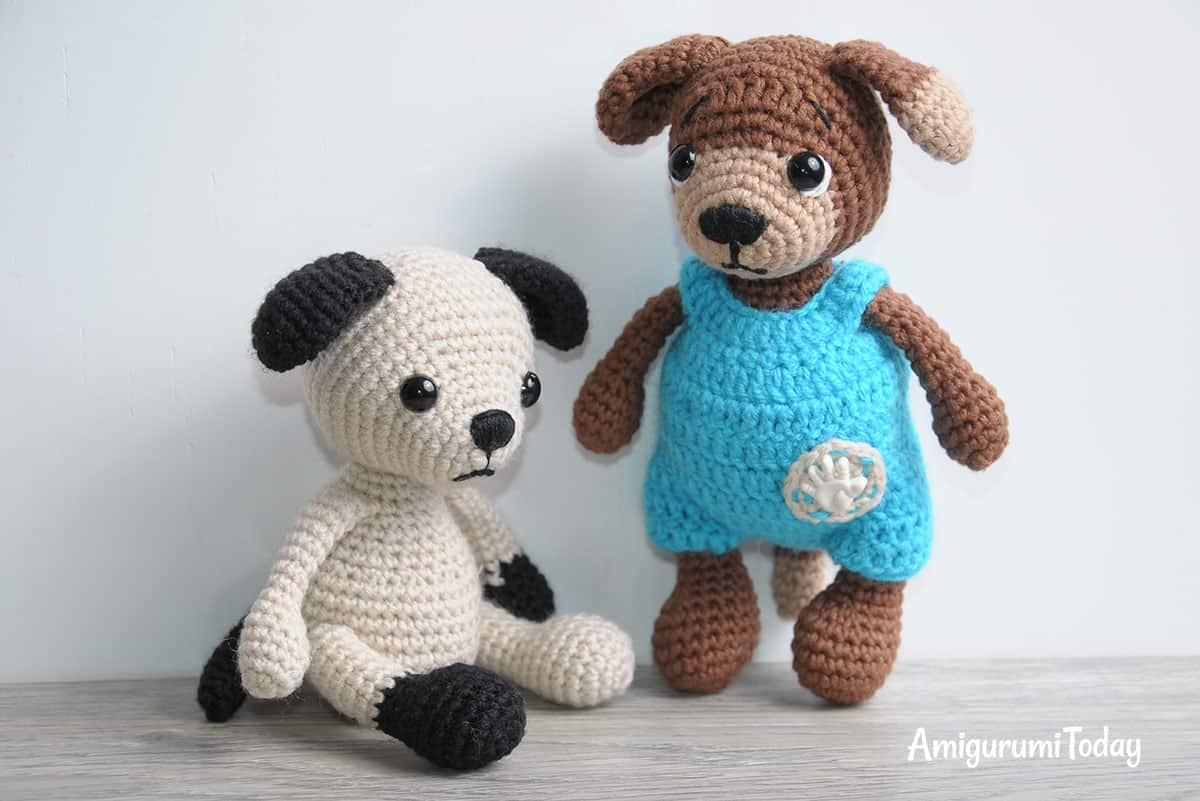 Timmy the Dog amigurumi pattern